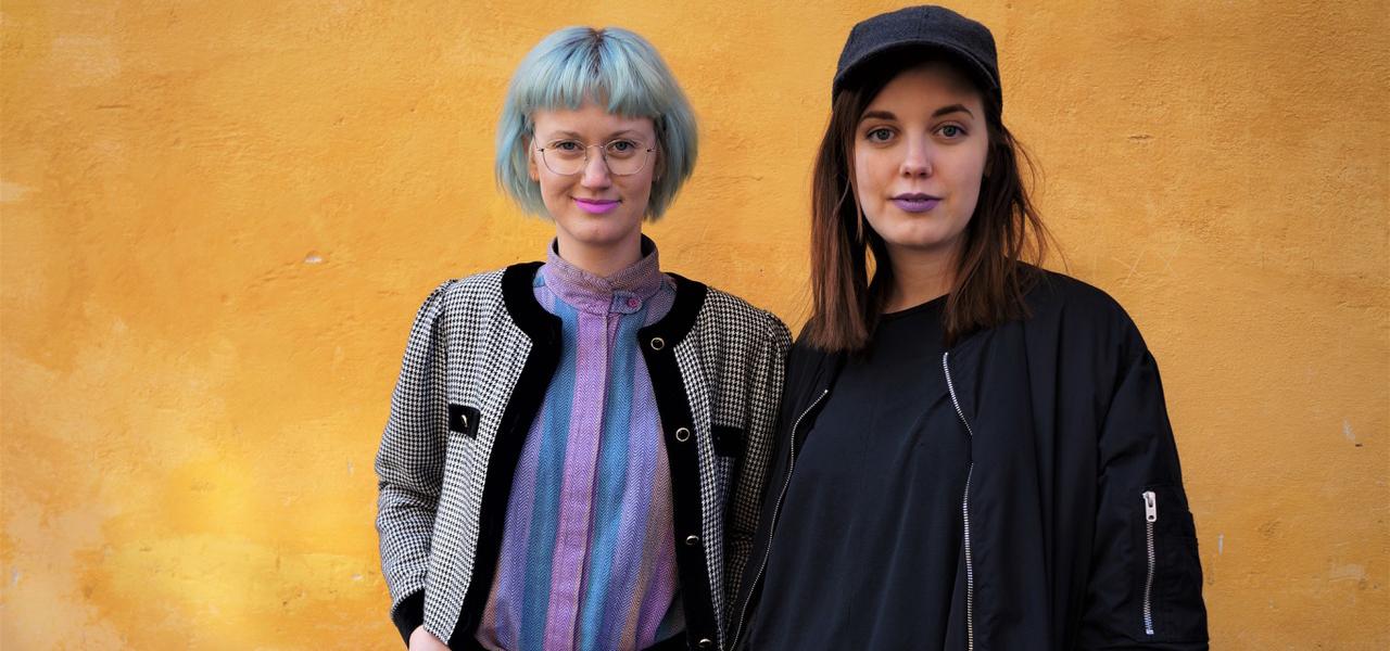 Anna Samuelsson och Victoria Manfred, Lingonkollektivet